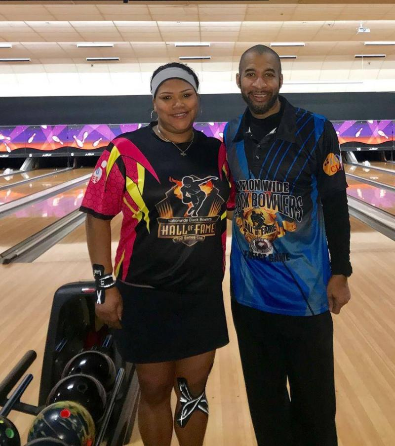 HALL OF FAME BOWLERS;;;WITH SPECIAL SHIRTS...